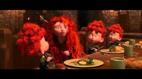 Brave (Indomable) Retrato Familiar - Fergus y Elinor Disney · Pixar Oficial