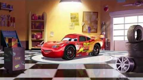 Cars Fast as Lightning - Lightning McQueen Spotlight (Ka-chow!)