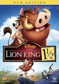 LionKing1andAHalf 2012 DVD