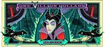 Maleficent's One Villain dollar bill