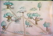 Map of Pooh Corner