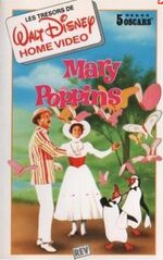 Mary Poppins 1988 France VHS