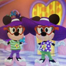 Millie and Melody Mouse V Day