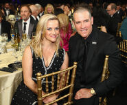 Reese Witherspoon Jim Toth sit at Critics Choice Awards