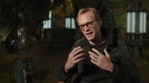 "SOLO Behind The Scenes ""Dryden Vos"" Paul Bettany Interview - A Star Wars Story"