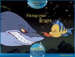 The Little Mermaid Diamond Edition Finding Your Voice Means Facing Your Fears Promotion