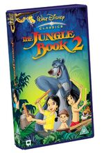 The jungle book 2 uk vhs