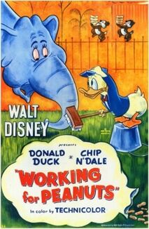 Working for peanuts 1953