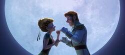Anna und Hans tanzen