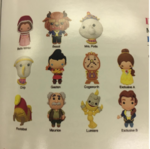Beauty and the Beast Figural Keyrings - NYTF