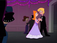 Candace and Jeremy dancing 2