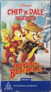 Chip n Dale Rescue Rangers Pound of the Baskervilles 1996 AUS VHS