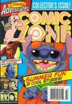 Disney Adventures Magazine cover Comic Zone 2004