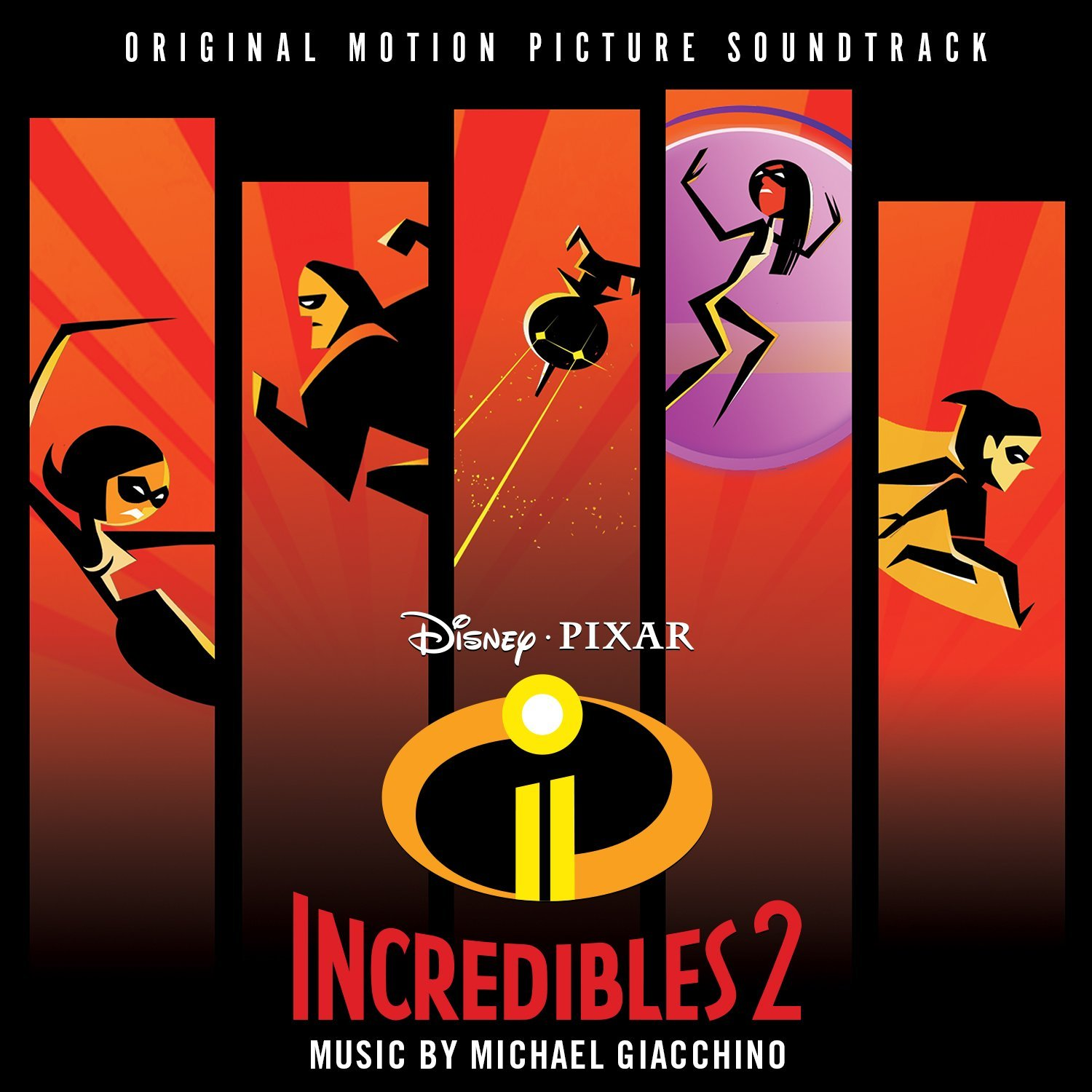 incredibles 2  soundtrack