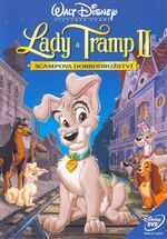 Lady and the Tramp 2 - 2001 Original Czech DVD Cover