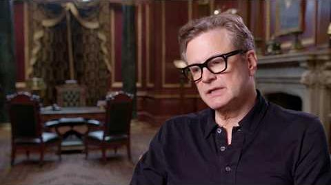 MARY POPPINS RETURNS Colin Firth Behind The Scenes Interview