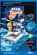 Star Tours Tokyo Disneyland Poster