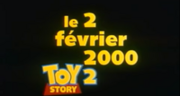 Toy Story 2 - Release date France
