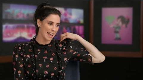 "WRECK-IT RALPH 2 ""Vanellope"" Sarah Silverman Behind The Scenes Interview - Ralph Breaks The Internet"