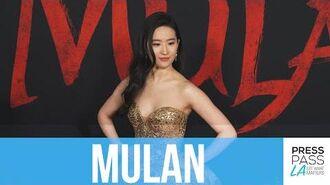 Disney's Mulan World Premiere Yifei Liu, Christina Aguilera, Donnie Yen, Jet Li, Jason Scott Lee