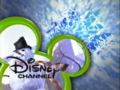 Disney Channel logo - Snowman (green and blue)