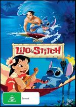 Lilo & Stitch 2014 AUS DVD