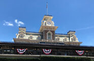 Main Street, U.S.A. station Magic Kingdom