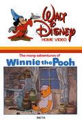 ManyAdventuresOfPooh original VHS