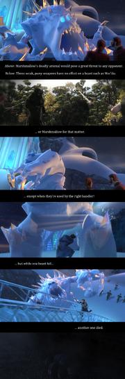 Marshmallow vs. Mordu
