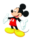 Mickey Mouse classic pose