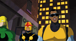 Nova and Luke Cage USM