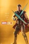 Poster gold thor