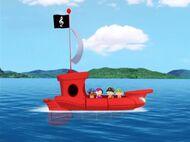 Rocket pirate ship