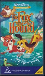 The Fox and the Hound 1997 AUS VHS