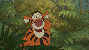 Tigger is telling the narrator he's the only one