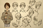 Toy story 3 concept art character design 02