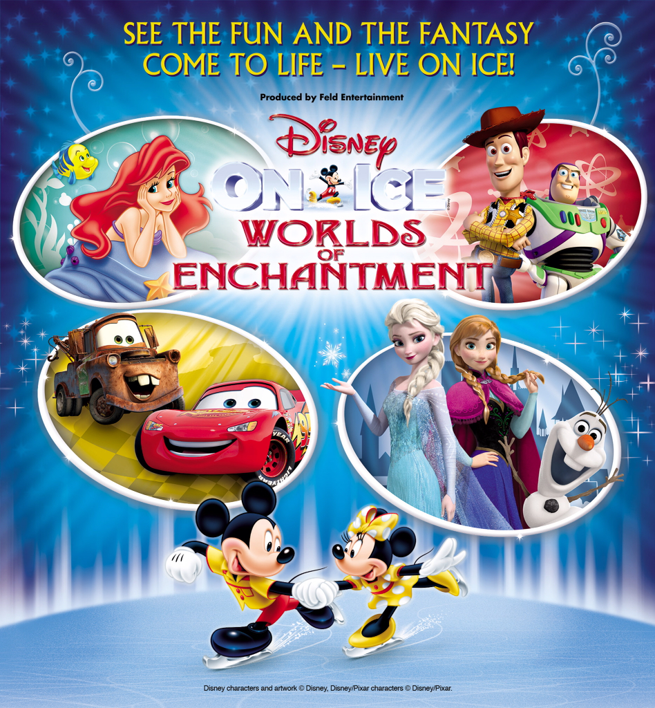 Image result for Disney On Ice Worlds Of Enchantment