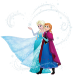Elsa and Anna Sisters 2
