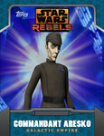 Galactic Empire - Commandant Aresko