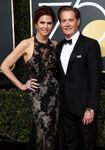 Kyle MacLachlan & wife Desiree Grube 75th Golden Globes