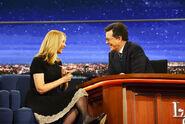 Lisa Kudrow visits Stephen Colbert