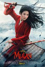 Mulan 2020 theatrical poster