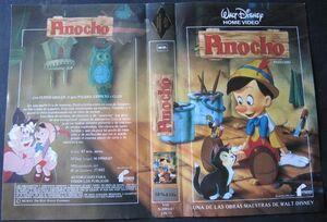 Pinocho es vhs