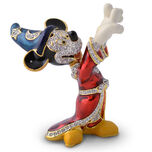 Sorcerer Mickey Mouse Figurine by Arribas - Jeweled