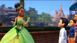 Tiana Kinect Disneyland