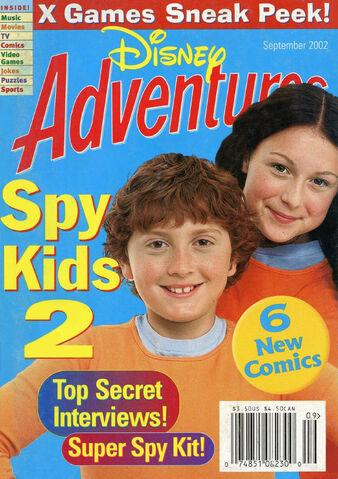 File:Disney Adventures Magazine cover September 2002 Spy Kids 2.jpg