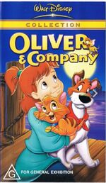 Oliver & Company 2001 AUS VHS Second