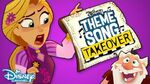Shorty Theme Song Takeover! Rapunzel's Tangled Adventures Disney Channel