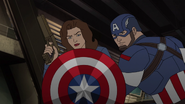 Steve & Peggy Avengers Secret Wars 09