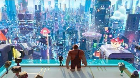 Ральф против интернета - Виртуальное путешествие